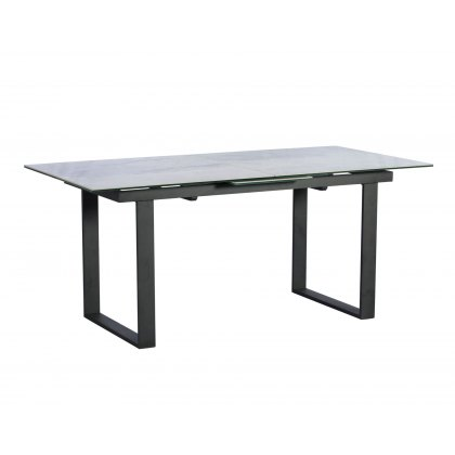 Panama Marble Effect 176cm-216cm Extending Dining Table