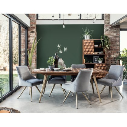 Amy Grey Upholstered Dining Chair