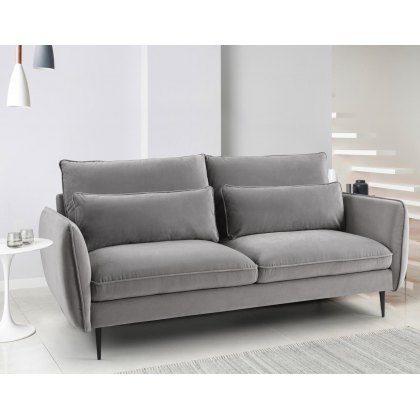 Susanna 3 Seater Sofa in Grey