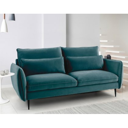 Susanna 3 Seater Sofa in Teal