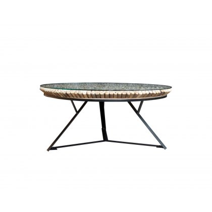 Driftwood Iona Round Coffee Table