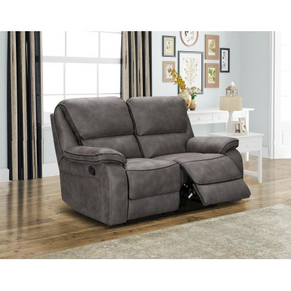 Monaco 2 Seater Manual Recliner Sofa
