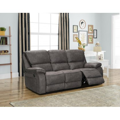 Monaco 3 Seater Manual Recliner Sofa