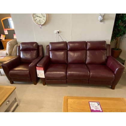Florence 3 Seater Sofa + Chair