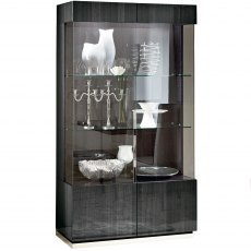 Monte Carlo 2 Door Display Cabinet