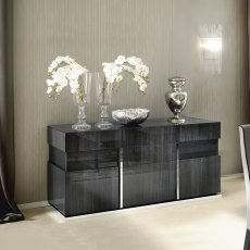 Monte Carlo 3 Door Buffet Sideboard