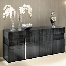Monte Carlo 4 Door Buffet Sideboard