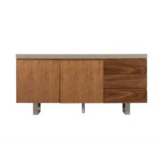 Petra Industrial Wide Sideboard