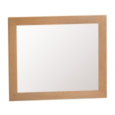 Light Rustic Oak Large Wall Mirror