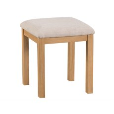 Light Rustic Oak Stool