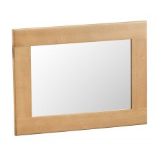 Light Rustic Oak Small Wall Mirror