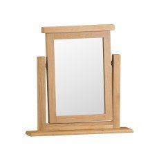 Light Rustic Oak Vanity Mirror