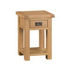 Light Rustic Oak Side Cabinet