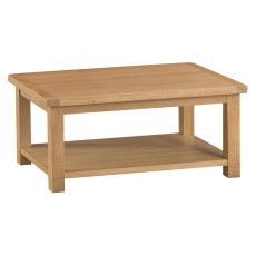 Light Rustic Oak Coffee Table