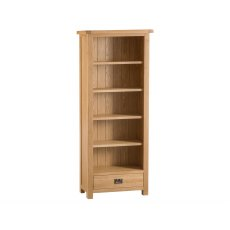 Light Rustic Oak Medium Bookcase