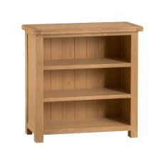 Light Rustic Oak Small Bookcase