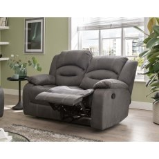Nova 2 Seater Recliner Sofa in Grey