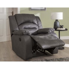 Nova Recliner Chair in Grey