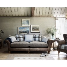 Alexander & James Lawrence II 4 Seater Pillow Back Sofa