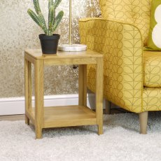Oak City - Stockholm Oak End Table