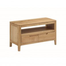 Oak City - Stockholm Oak Small TV Unit