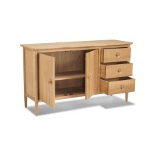 Henley Solid Oak Large Sideboard