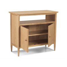Henley Solid Oak Open Sideboard