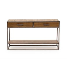 Vermont Console Table in Light Brown