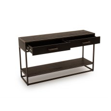 Vermont Console Table in Dark Brown