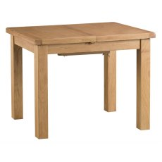 Light Rustic Oak 1m Butterfly Extending Table