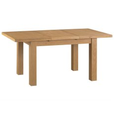 Light Rustic Oak 1.25m Butterfly Extending Table