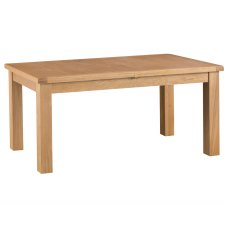Light Rustic Oak 1.7m Butterfly Extending Table