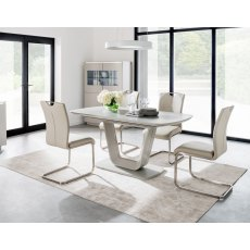 Liberty 160-200cm Extending Dining Table Set & 6 Chairs