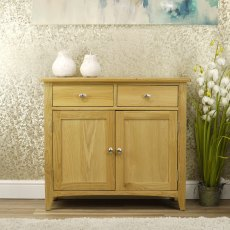 Oak City - Oakland Modern Oak Sideboard