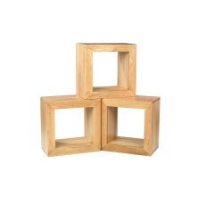 Oak City - Cuba Chunky Oak 1 Hole Cube