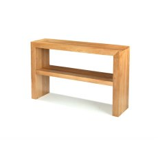 Oak City - Cuba Chunky Oak Large Console Table