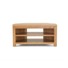 Oak City - Cuba Chunky Oak 100cm Corner TV Unit