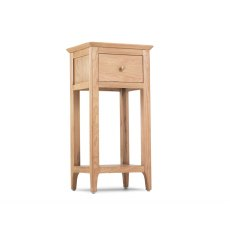 Oak City - Worsley 1 Drawer Telephone Console Table