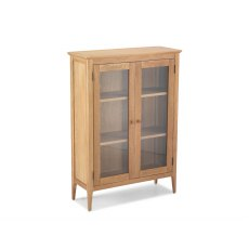 Oak City - Worsley Oak Glazed 2 Door Cabinet