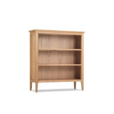 Oak City - Worsley Oak Low Bookcase