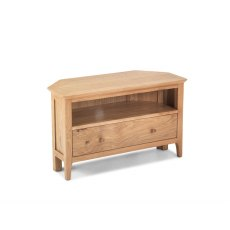 Oak City - Worsley Oak 87cm Corner TV Stand