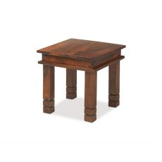 Oak City - Maharajah Indian Rosewood Chunky Coffee Table - 45 x 45