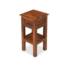 Oak City - Maharajah Indian Rosewood Lamp Telephone Table