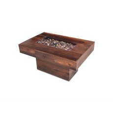Oak City - Maharajah Indian Rosewood Pebble Coffee Table - 60 x 90