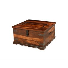 Oak City - Maharajah Indian Rosewood Square Coffee Table