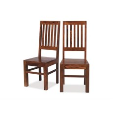 Oak City - Maharajah Indian Rosewood High Back Slat Chair
