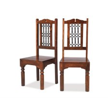 Oak City - Maharajah Indian Rosewood High Back Chair