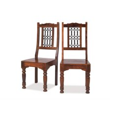 Oak City - Maharajah Indian Rosewood Low Back Chair