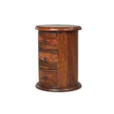 Oak City - Maharajah Indian Rosewood 3 Drawer Large Drum