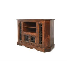 Oak City - Maharajah Indian Rosewood Corner Large TV Stand